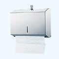 商品圖:不銹鋼三折式擦手紙架(小)